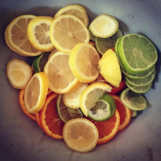 Oranges Lemons and Limes