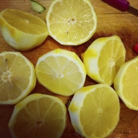 Juice and peel of 4 lemons