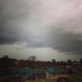Yep the storm before the hail