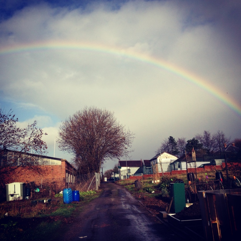 then rainbow