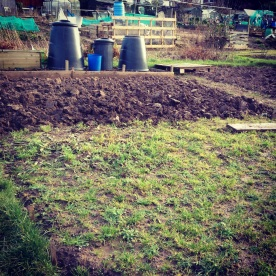 Three days digging